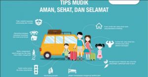 Tips Mudik Lebaran Aman Sehat dan Selamat