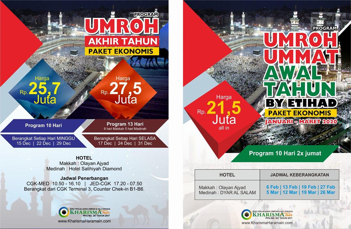 Paket Umroh Murah Promo 2020 Kharisma Tour Travel Solo Gabung