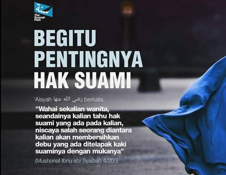 Inilah Pentingnya Hak Suami kepada Istri dalam Islam (Facebook.com)
