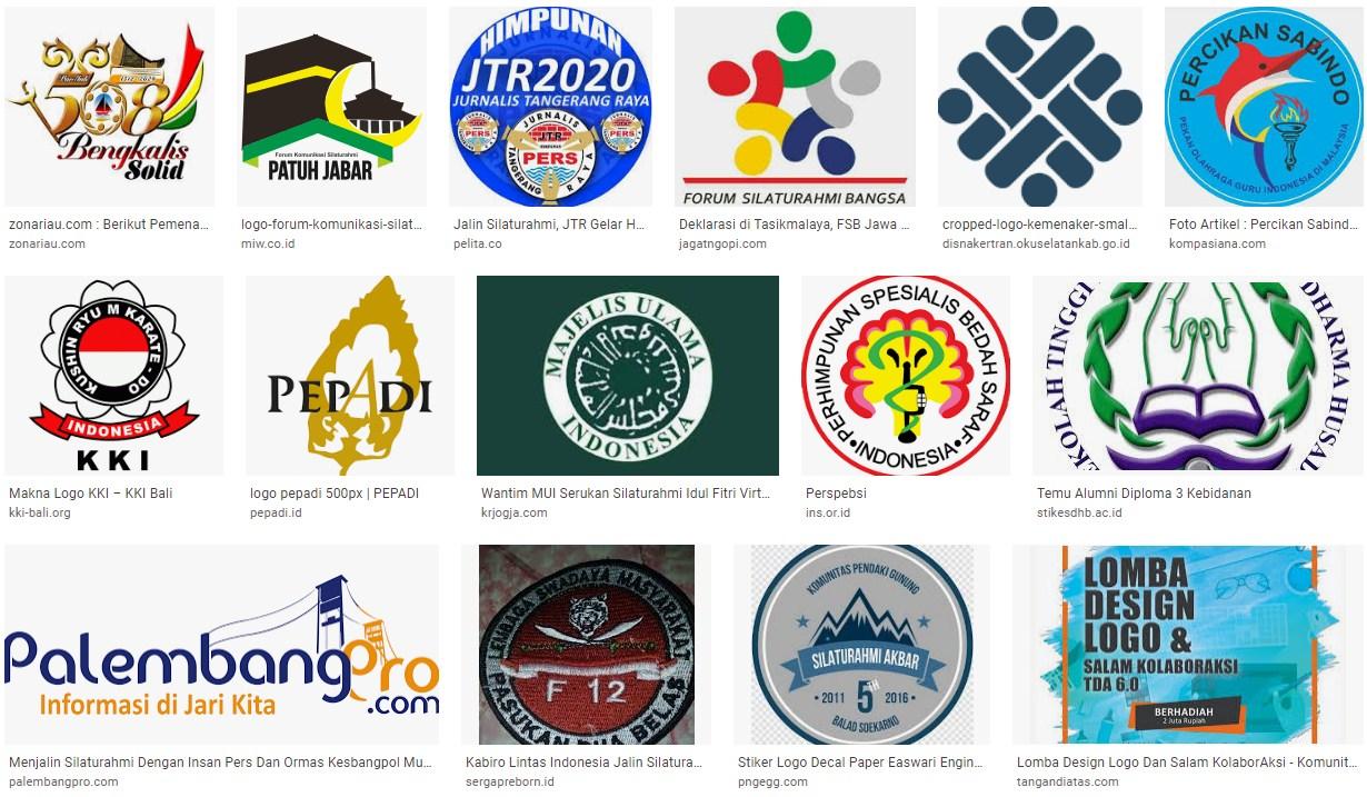 Gambar logo silaturahmi paguyuban dan komunitas keren