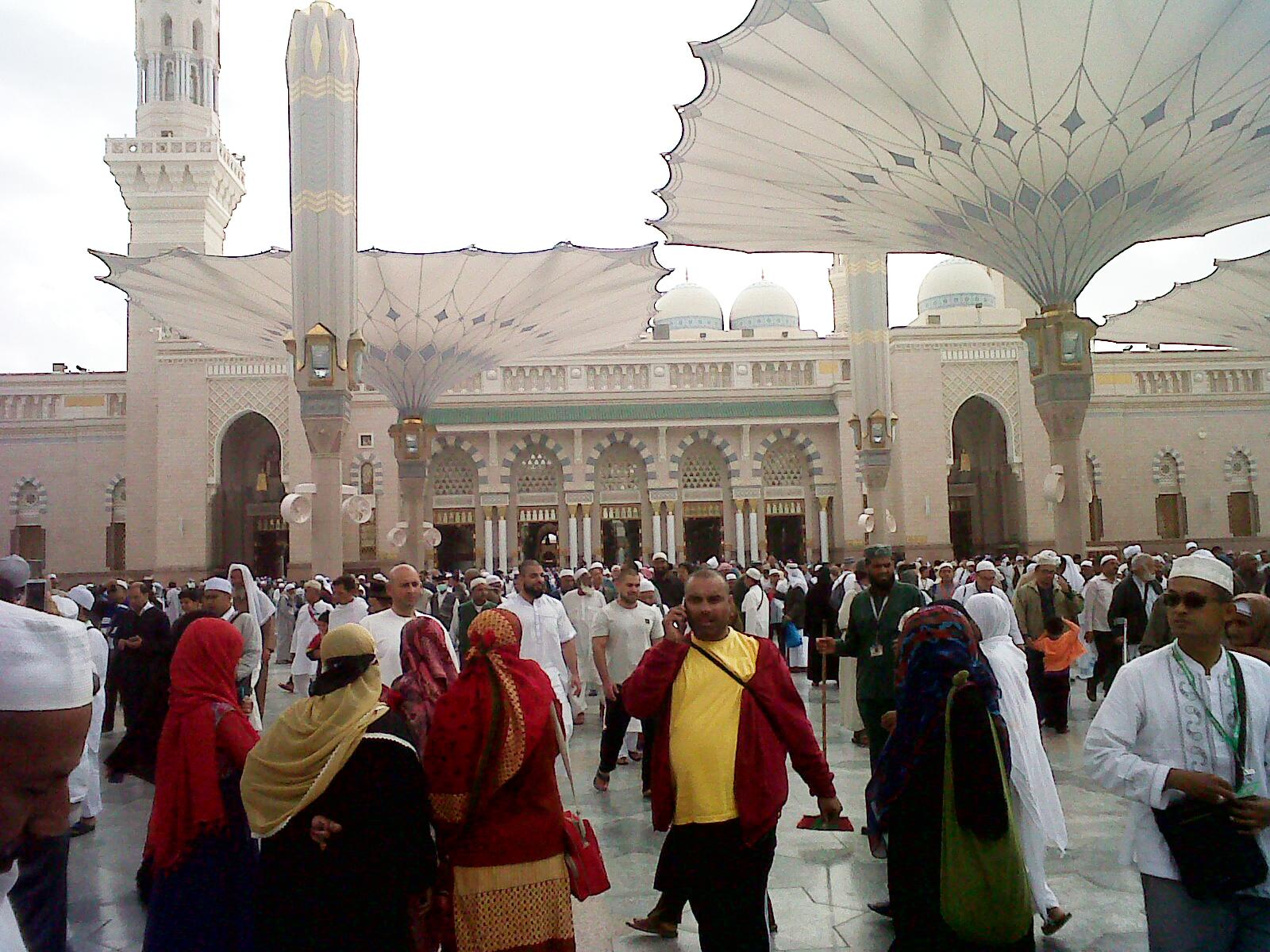 Masjid Nabawi Madinatul Munawaroh